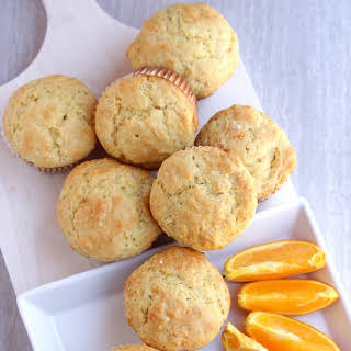 Orange Muffins – Egg less Orange Muffins.