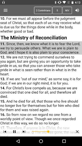 Bible Offline screenshot 5