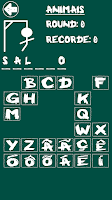 Screenshot of Hangman (Portuguese)