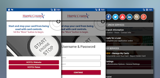 Harris County FCU - by Harris County Federal Credit Union - Finance Category - 4 Reviews - AppGrooves: Discover Best iPhone & Android Apps & Games