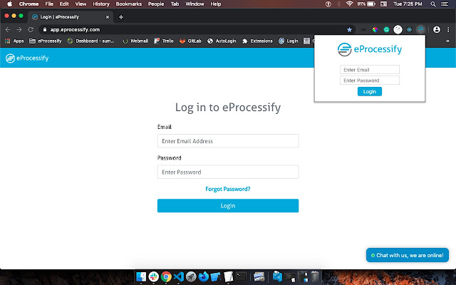 eprocessify-password-extension