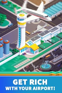 Idle Airport Tycoon – Tourism Empire Mod Apk Download For Android and Iphone 2