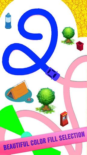 Code Triche Color Line Jeu 3D APK MOD (Astuce) screenshots 5