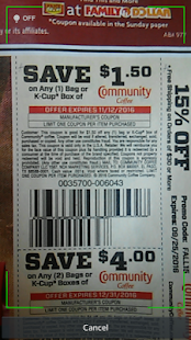Coupon Scan- screenshot thumbnail