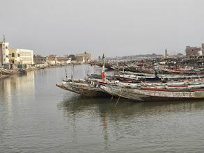 Photo: Fishing boats at Saint-Louis, the fishing town