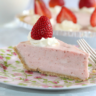 Whipped Strawberry Pie.