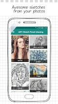 ARTi Sketch Pencil drawing - screenshot thumbnail 01