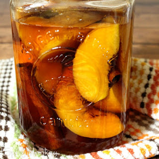 How to Make Peach Bourbon.