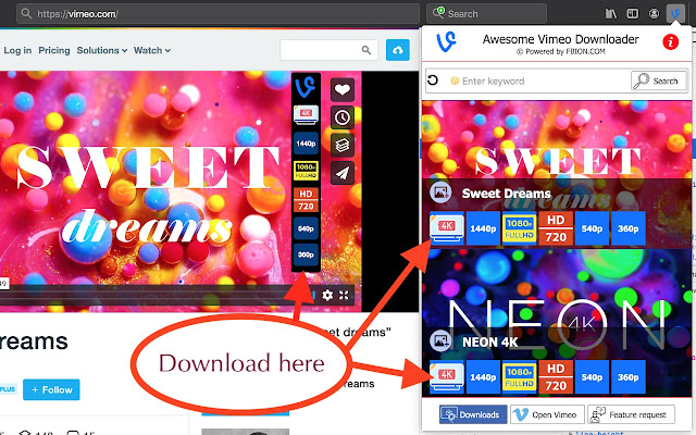 Awesome Vimeo Downloader