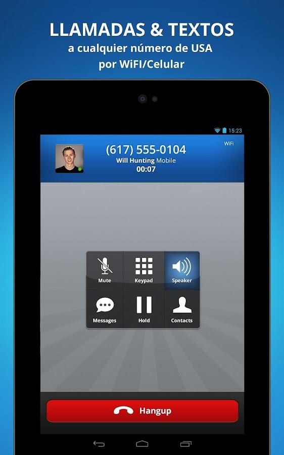 Talkatone. Llamadas y textos- screenshot
