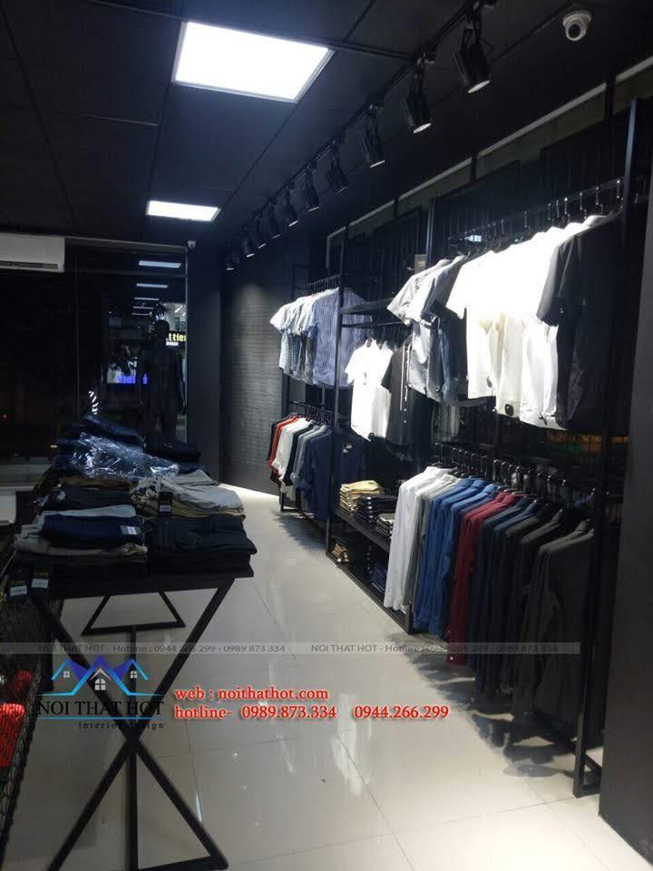 thiết kế shop thời trang nam H2T 26