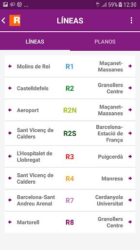 Renfe Cercanias screenshot 4