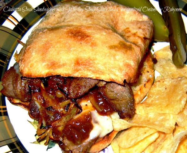 Ciabatta Steak Sandwich~robynne Recipe