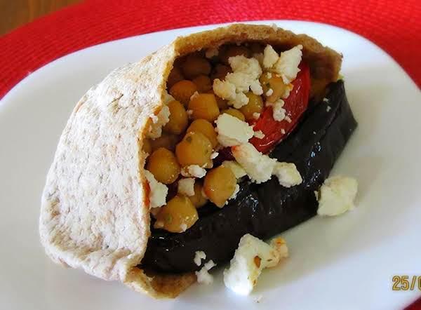 I'm Stuffed! - Vegetarian Pita Pocket For One Recipe