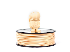 Tan MH Build Series PLA Filament - 3.00mm (1kg)