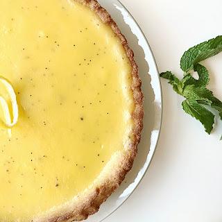 Lemon Poppy Seed tart
