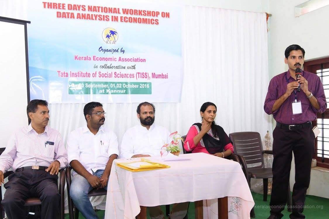 3 Days National Workshop on Data Analysis in Economics