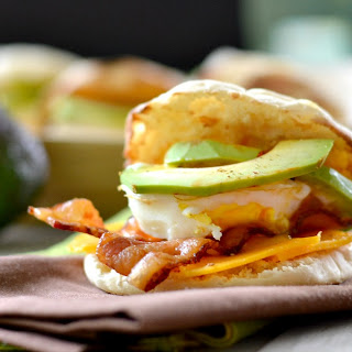 Easy Morning Breakfast Sandwich.