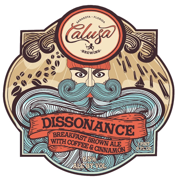Logo of Calusa Dissonance Breakfast Brown