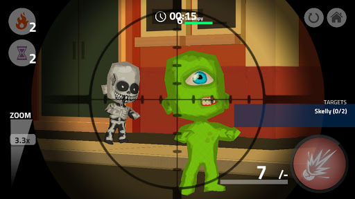 Zombie Monster Cartoon Wars