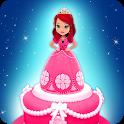Fairy Princess Ice Cream Cake Making Game icon
