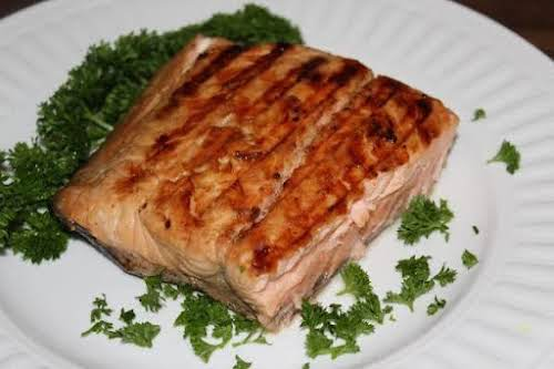 """Grilled Salmon, The House Special""""This recipe has long been a family fav...."""