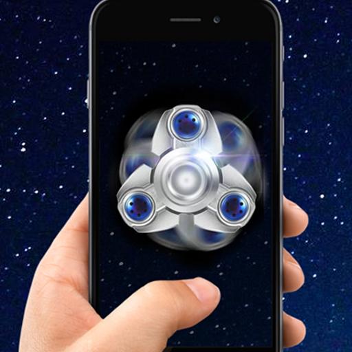 Glow Galaxy Fidget Spinner
