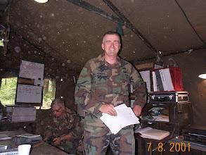 Photo: Battalion XO Verne McMoarn