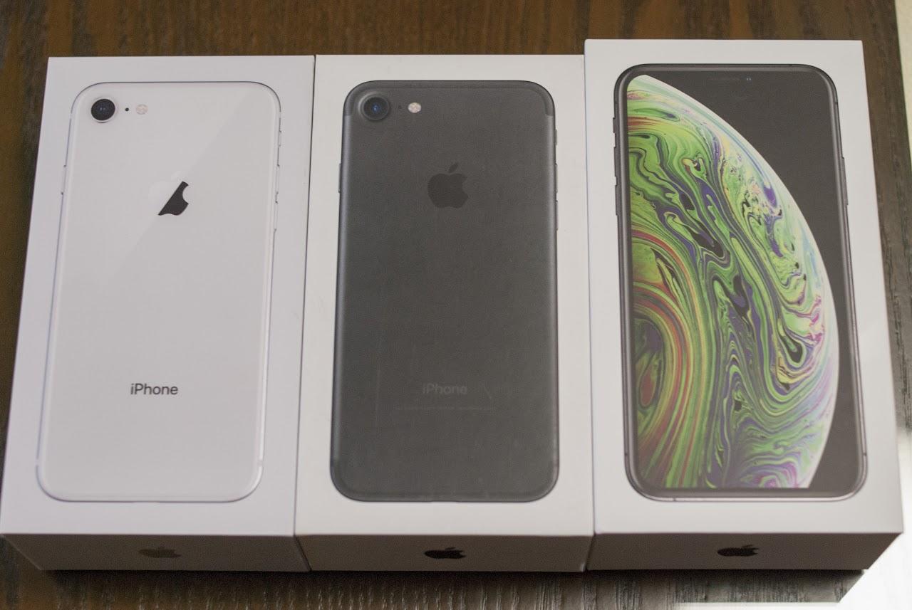 iPhone 박스 비교