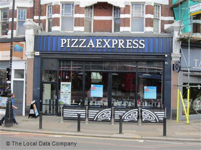 Pizzaexpress On Muswell Hill Broadway Restaurant Italian
