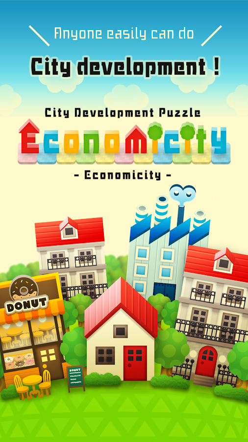 Economicity -City Development Puzzle-- screenshot