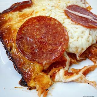 Crock-Pot Spaghetti Squash Pizza Casserole.