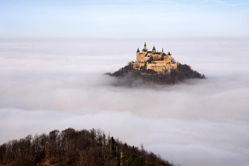 Photo: Это наш мир This is our worldСказочный остров в тумане. Замок Гогенцоллерн, Германия