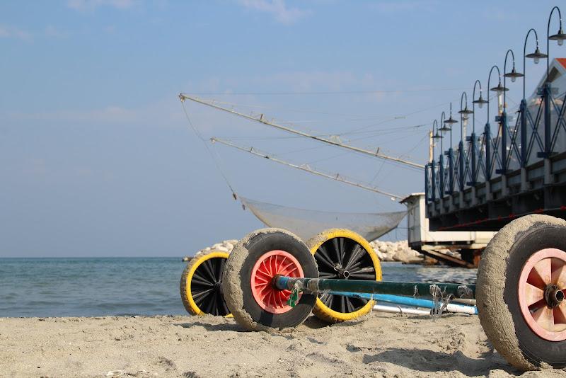 ruote sulla sabbia di patriziabenati