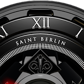 Black Shiva HD Analog Clock Widget