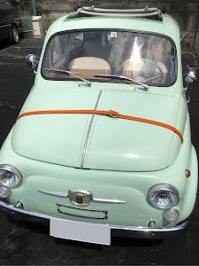 フィアット500  Fiat500D 1963'sのカスタム事例画像 Jimmyさんの2018年07月24日10:29の投稿