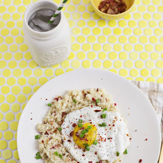 Risotto Lorraine, serves two