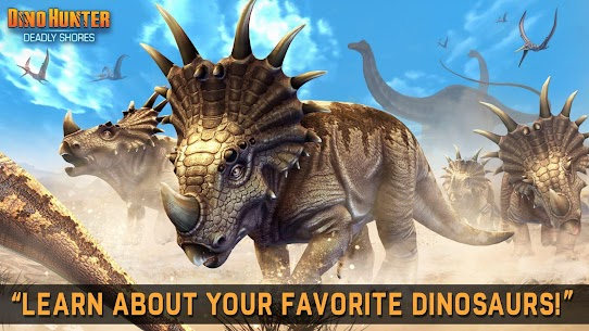 DINO HUNTER: DEADLY SHORES MOD Apk (Unlimited Money) 10