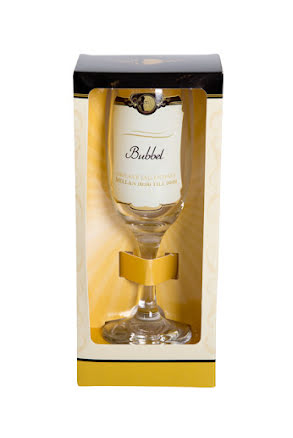 Champagneglas, bubbel