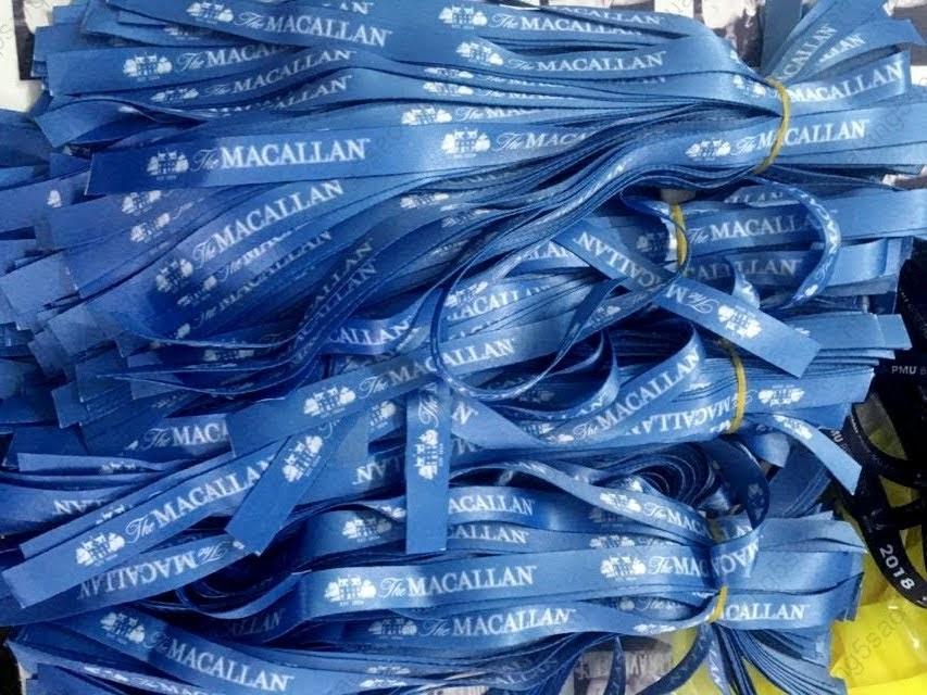 Vòng tay vải sử dụng một lần dành cho sự kiện của Macallan