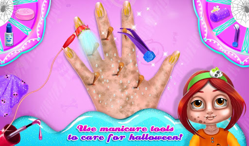 玩免費教育APP|下載Halloween Kitty Nail Salon app不用錢|硬是要APP