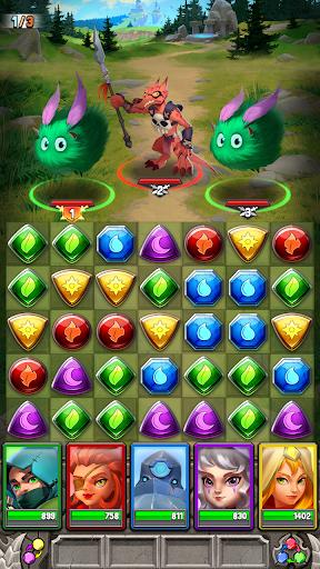 Dragon Strike: Puzzle RPG apktram screenshots 6
