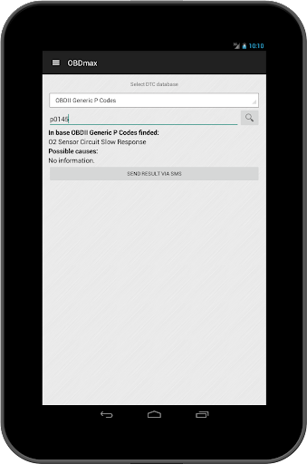 OBD2 scanner & fault codes description: OBDmax  screenshots 14