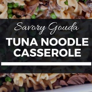 Gouda Tuna Noodle Casserole.