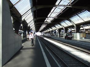 Photo: Вокзал. Поезд до аэропорта идет 13 минут.