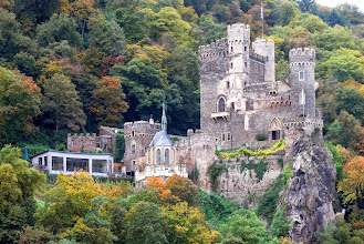 Photo: Rhinestein Castle - many of these castles have been renovated into hotels