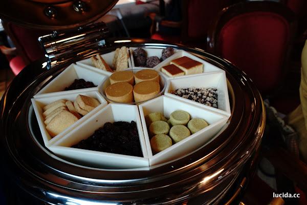 宮原眼科樓上的典雅餐廳「醉月樓沙龍」吃冰免排隊