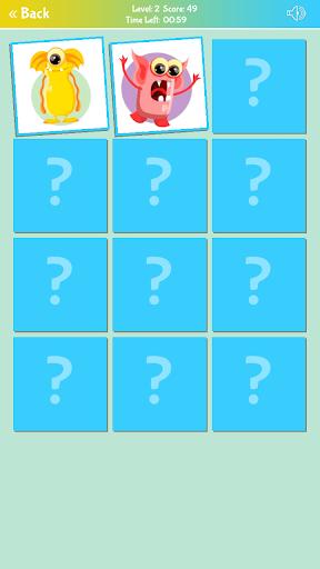 لقطات شاشة لعبة ذاكرة الوحوش اللطيفة 7