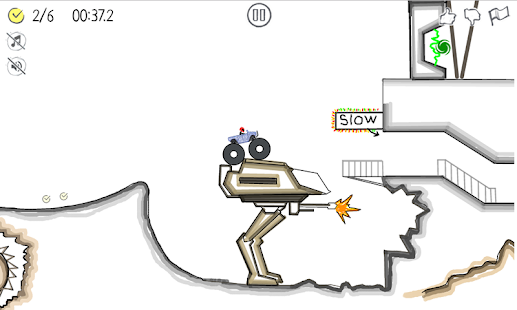 Paper Racer - stickman racing – Miniaturansicht des Screenshots