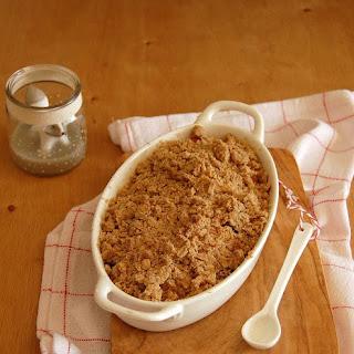 Apple Gingerbread Crumble Recipe